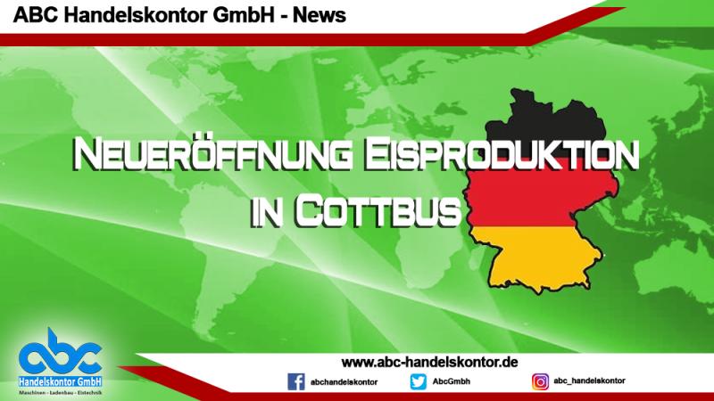 Eisproduktion in Cottbus eröffnet